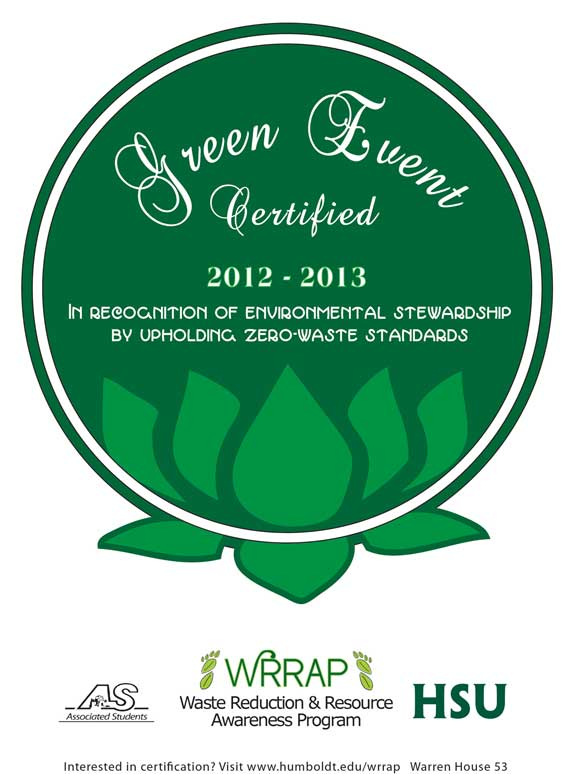 Click here to download a Green Event Checklist